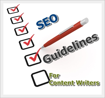 SEO guidelines for content writers