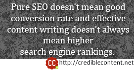 SEO or conversion rate