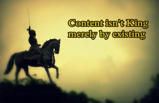Content alone is not King