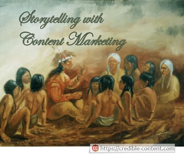 Storytelling with content marketing