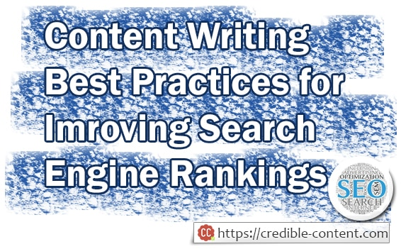 10 Content Writing Best Practices To Improve Your Search Engine Rankings