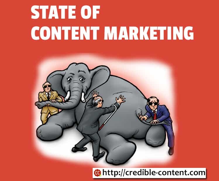 Wrong facts about content marketing