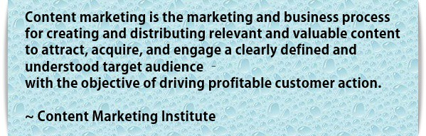 what is content marketing – content marketing Institute