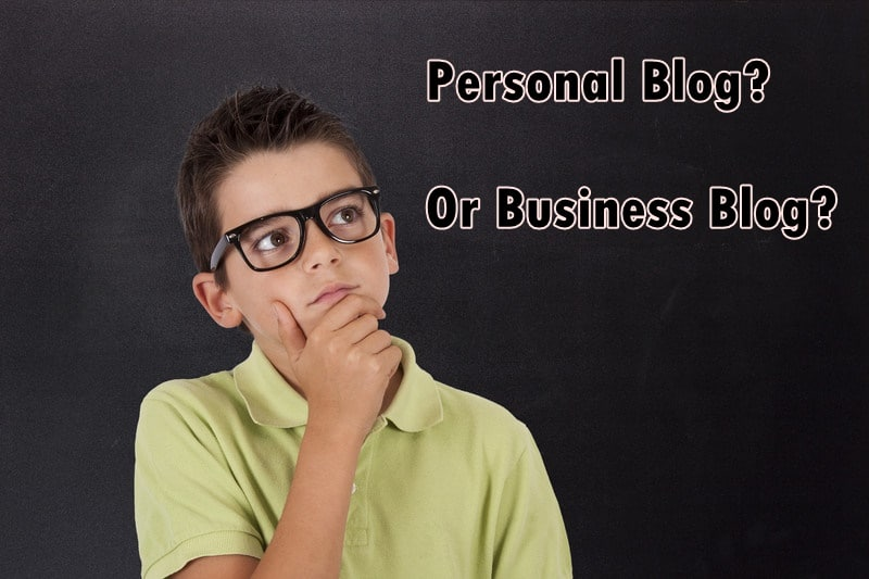 personal blog or business blog