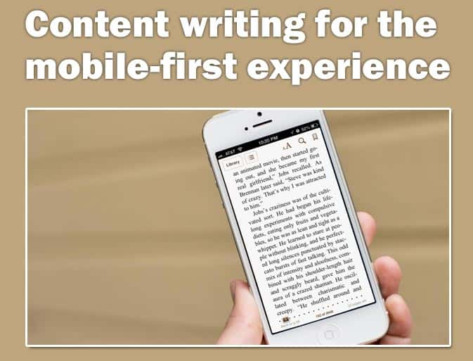 content-writing-for-the-mobile-first-experience