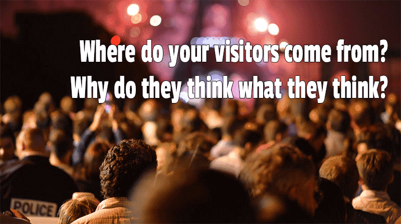 SEO content writing needs to understand where your visitors come from
