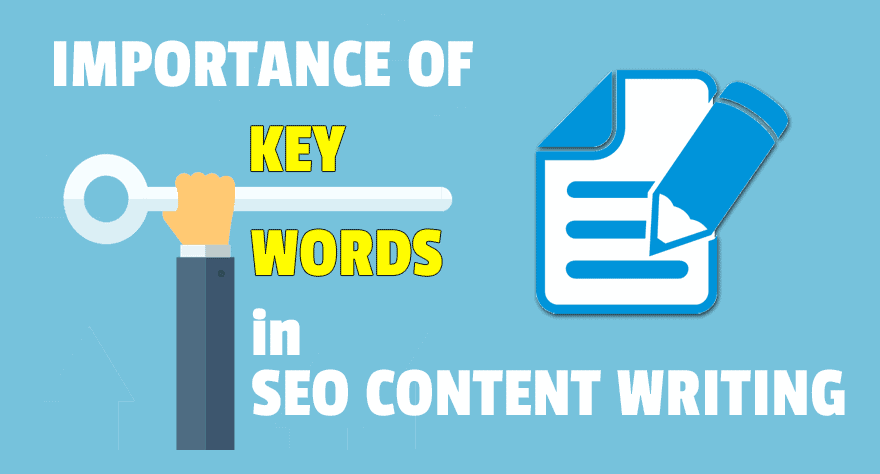 Importance of keywords in SEO content writing