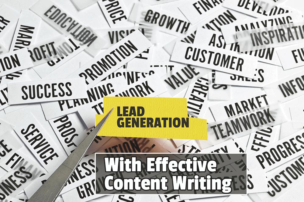 Lead generation with effective content writing