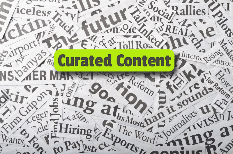 SEO with curated content