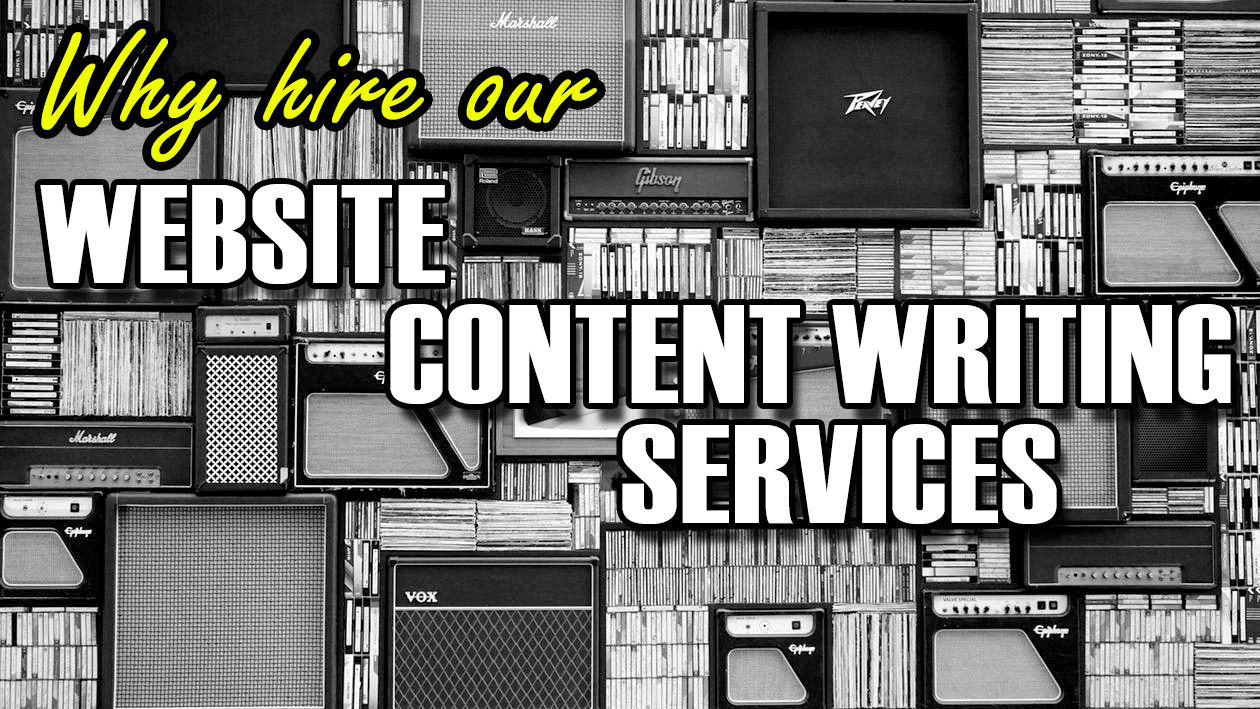 Why hire our website content writing services