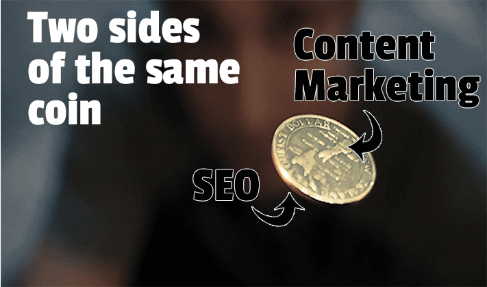 Content marketing and SEO: two sides of the same coin