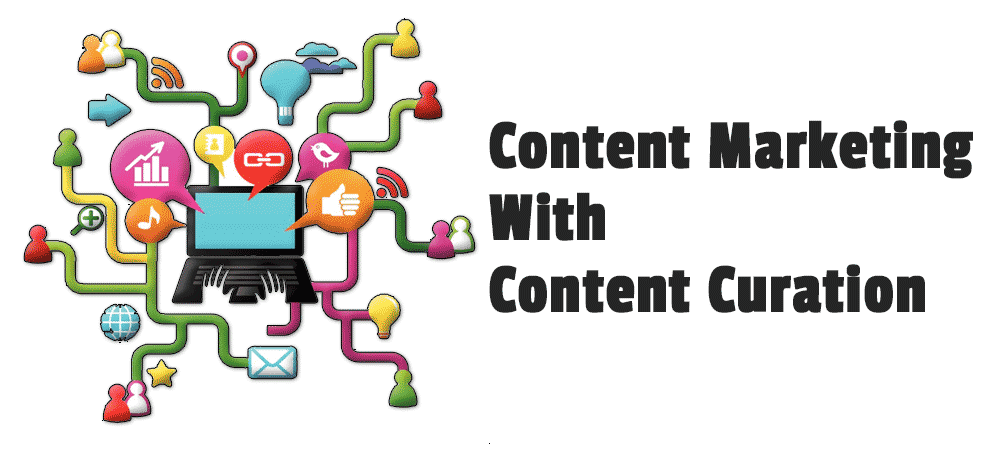 Content marketing with content curation