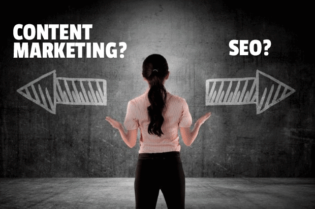 What to use? Content marketing or SEO?