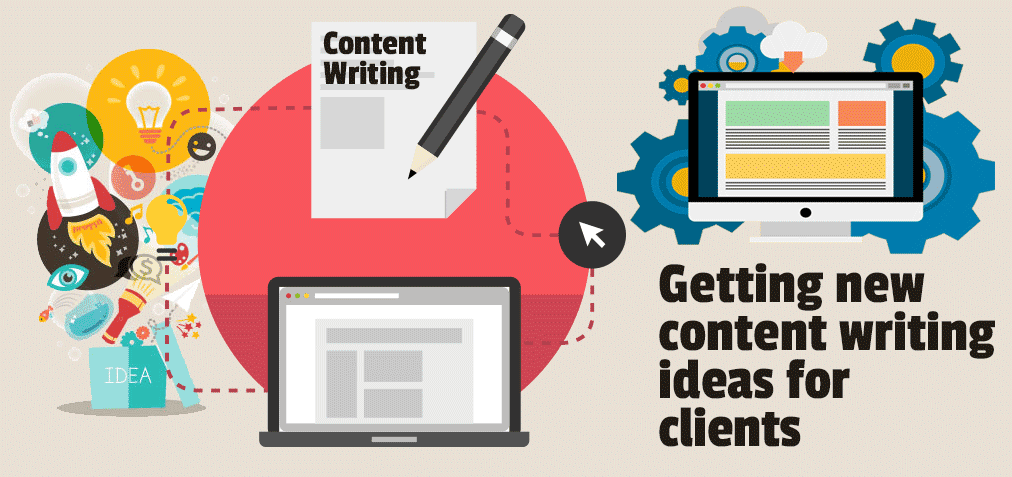 Getting content writing ideas for clients
