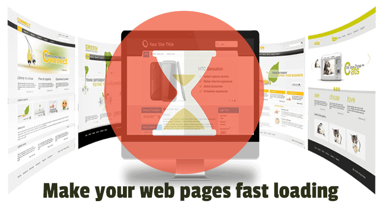 Make your web pages fast loading
