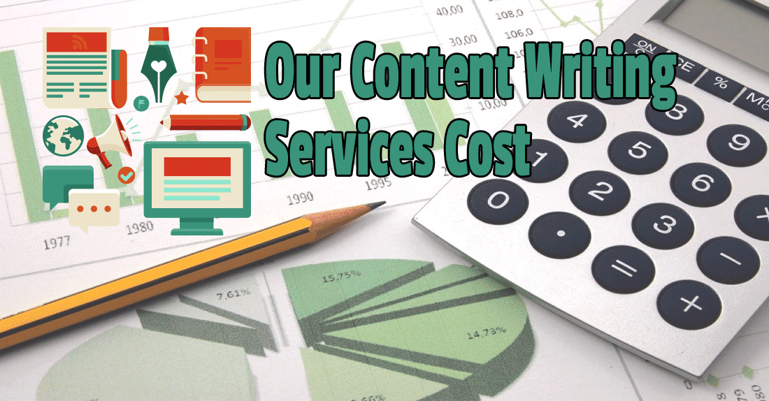 How much do professional website content writing services cost?