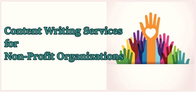 Content Writing Services for Non-Profit Organisations