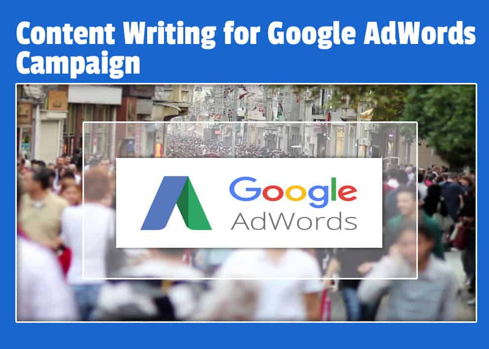 content-writing-for-Google-AdWords-campaign