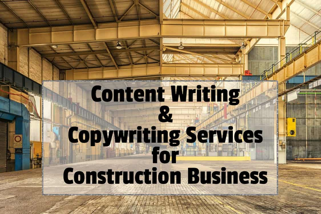 Website copywriting services businesses
