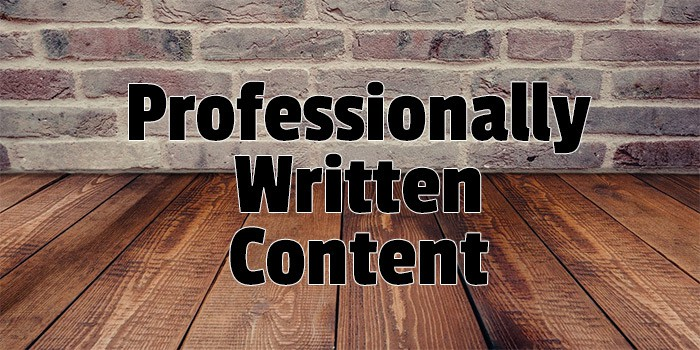Content Writing Services at The Website designing studios