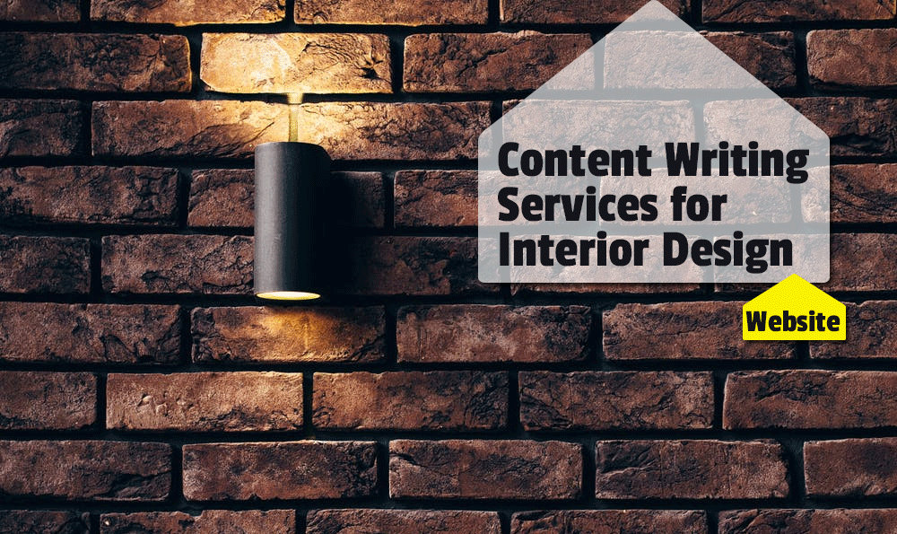 Content writing service for interior design website