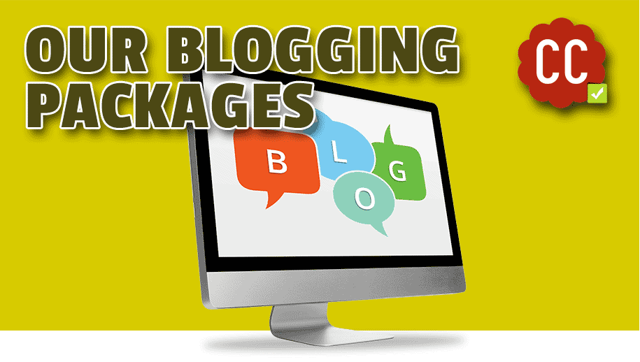 Our blog content writing packages