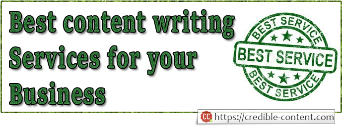 Best content writing services for your business