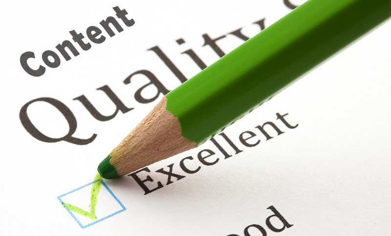 Importance of quality content for your business blog