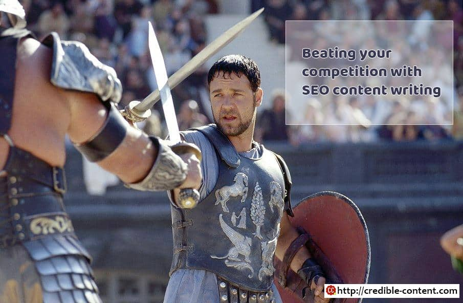 5 ways to beat your competitors at SEO with content writing - Credible  Content Blog