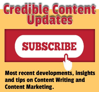 Subscribe to Credible Content Updates