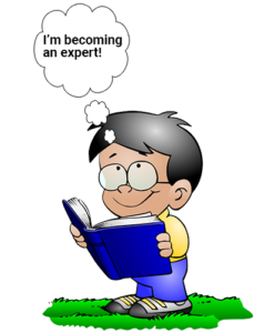 Read books and articles for new content writing ideas