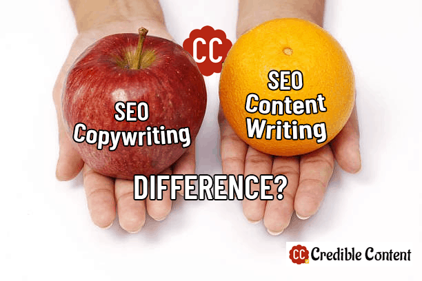 Difference between SEO copywriting and SEO content writing