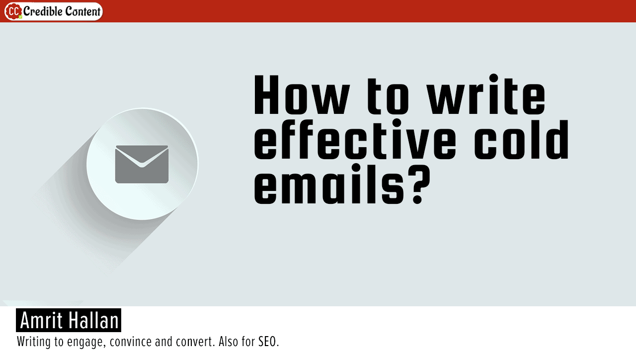 Writing effective cold emails