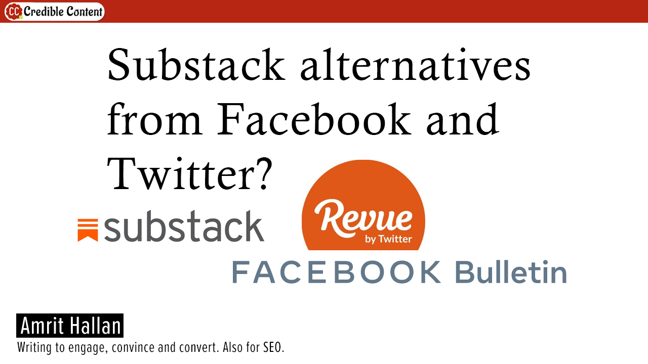 Substack alternatives from Facebook and Twitter