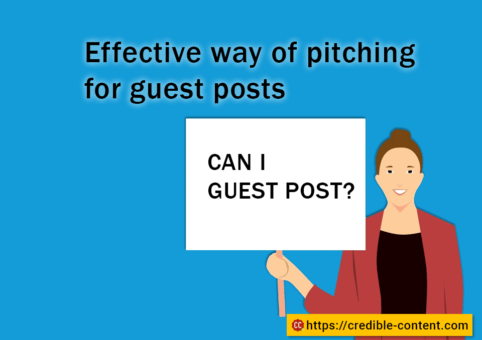Effective way of pitching for guest posts