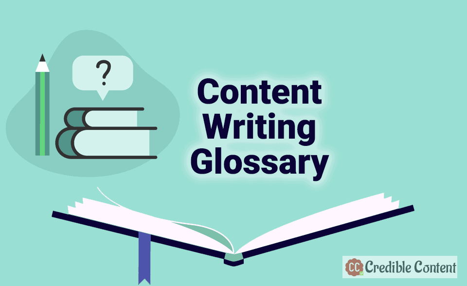 Content writing glossary