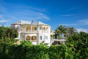 Content writing for oceanview villa in Jamaica