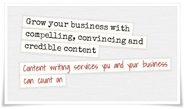 Grow your business with content writing