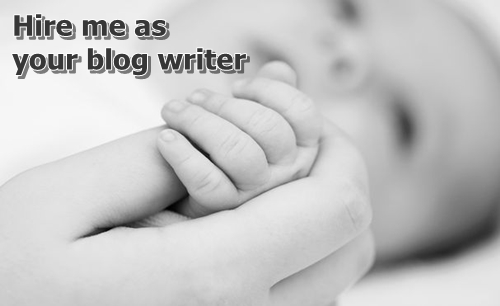 Hire me as your blog writer