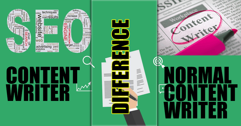 Difference between SEO content writer and normal content writer