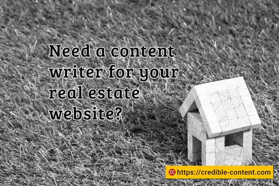 Do you really need a content writer for your real estate website?
