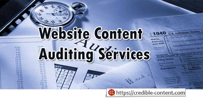 Website Content Auditing Services