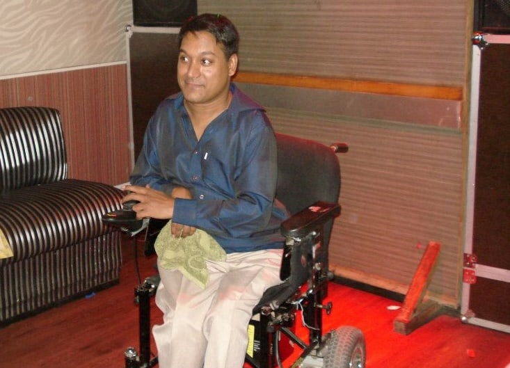 disabled content writer amrit hallan