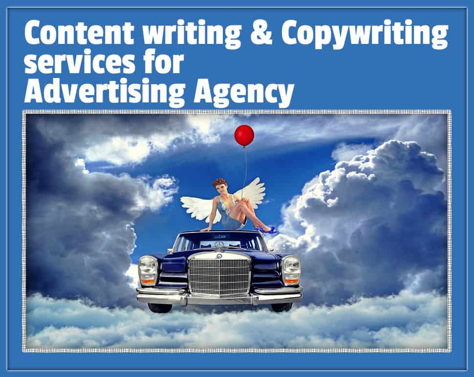 Content writing copywriting services for advertising agency for Content marketing agency