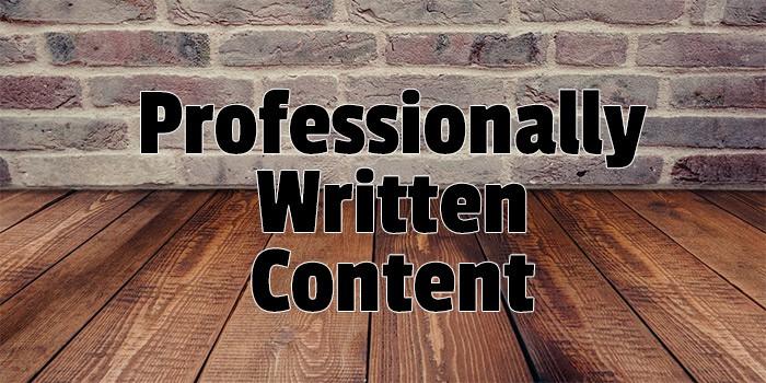 professionally-written-content