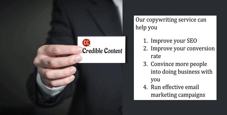 Copywriting service you