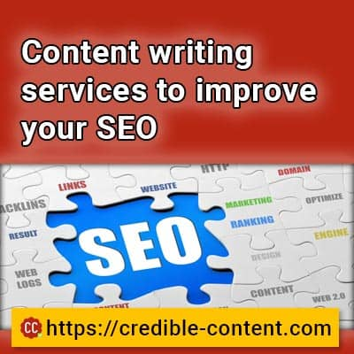 Content writing services to improve your SEO