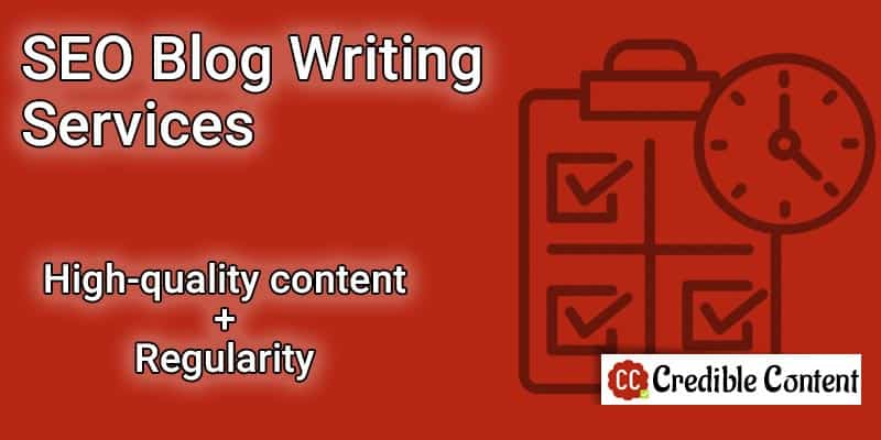 SEO blog writing services – high-quality content with regularity