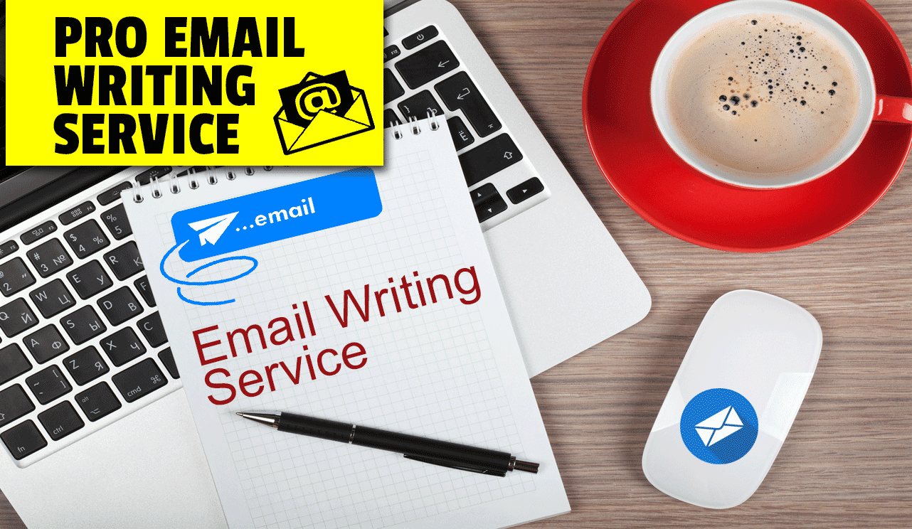 Email writing service