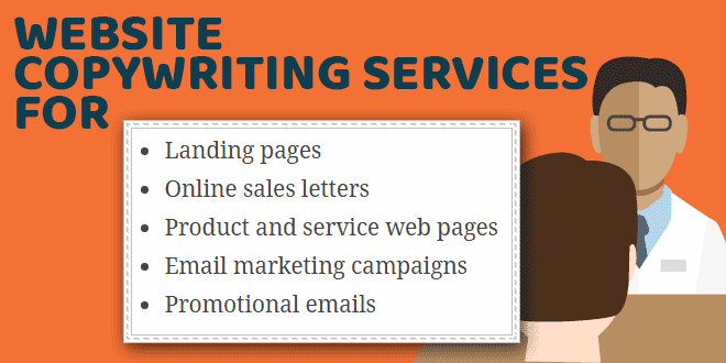 Website copywriting services business